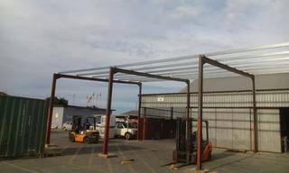 steel structure 1a